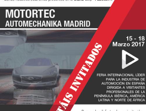 Feria Motortec A.M 2017 – Madrid